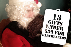 13 Gifts Under $39 for Babywearers