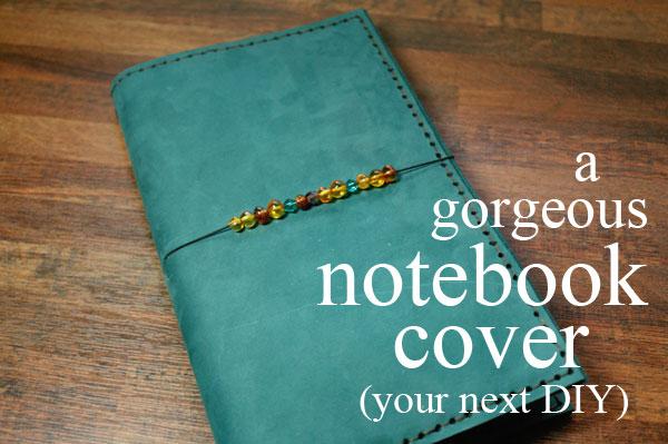 how to make a homemade notebook