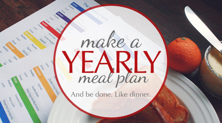 Your Year-Long Meal Plan