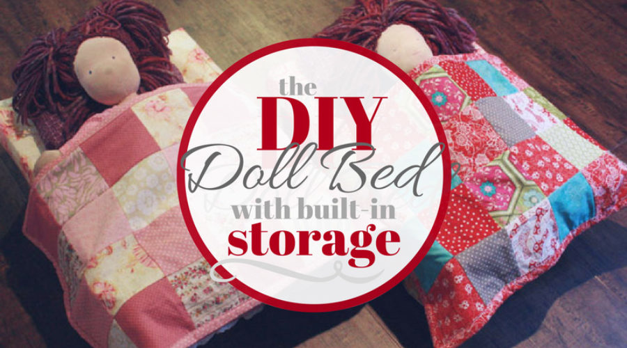 DIY Doll Beds with Storage
