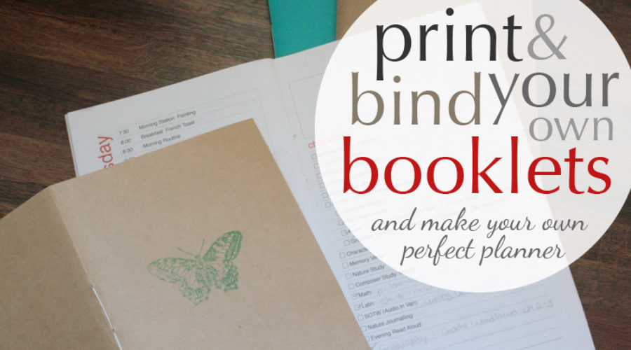 How to Bind a Booklet