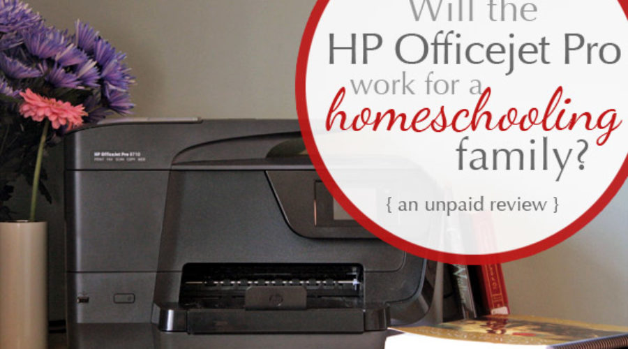 A Homeschooler's Review of the HP Officejet Pro
